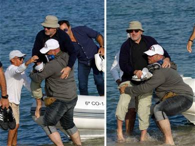 Robert De Niro: Avoids a Spill in Ibiza
