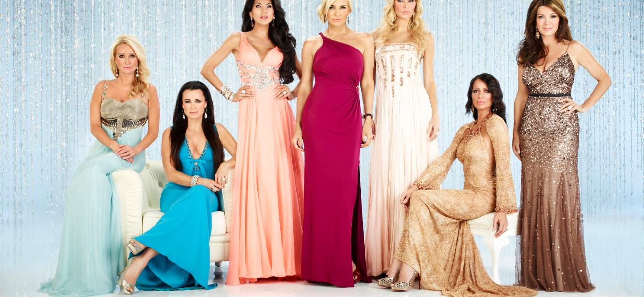 Are These Two 'Real Housewives' Getting Hot and Heavy?