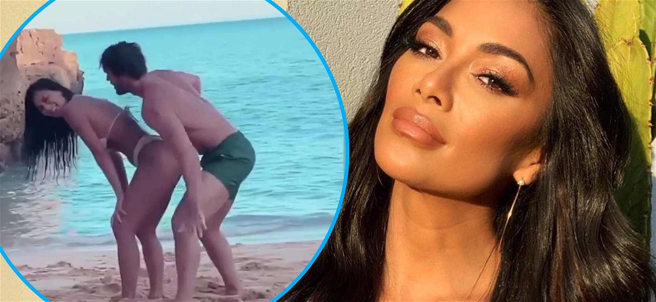 Bikini Clad Nicole Scherzinger Lets Hunky BF Thom Evans Grind Up On Her Amid Baby Making Rumors