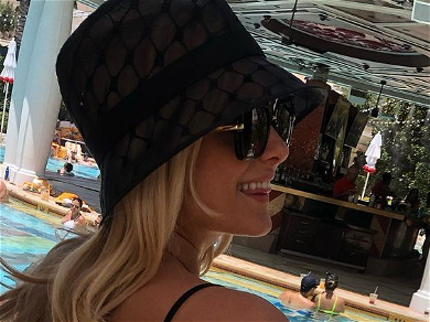 Bebe Rexha Shares Cheeky Vegas Pool Party Pics In Cute Suit And Bucket Hat