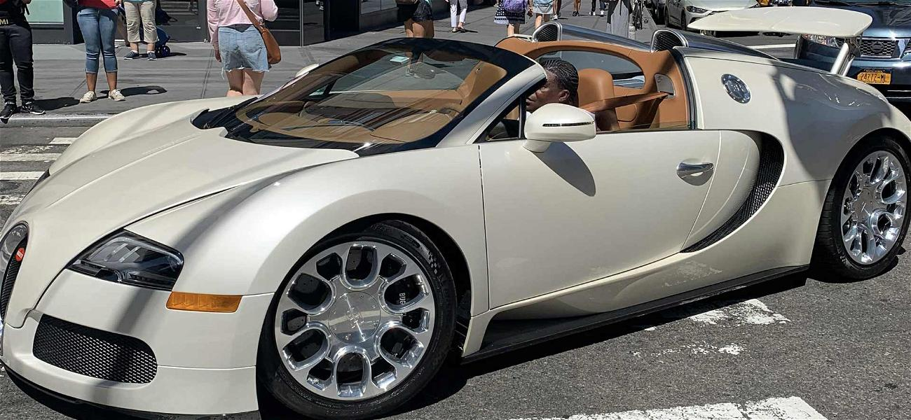 Tracy Morgan Rolls Out In His Newly Fixed $2 Million Bugatti