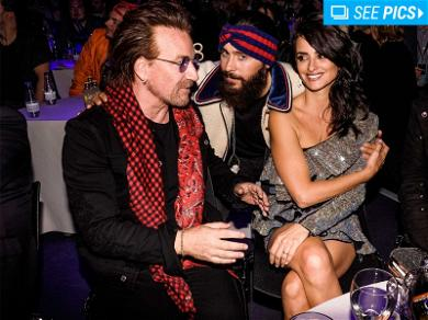 Bono and Jared Leto Were at the Same Event Last Night, So You Know It Had to Be Cool
