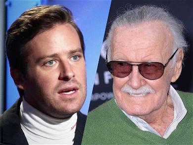 Armie Hammer Trashes Celebs Who Shared Stan Lee Selfies After His Death
