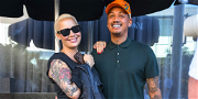 Amber Rose Shares First Photo of Newborn Son Home From The Hospital