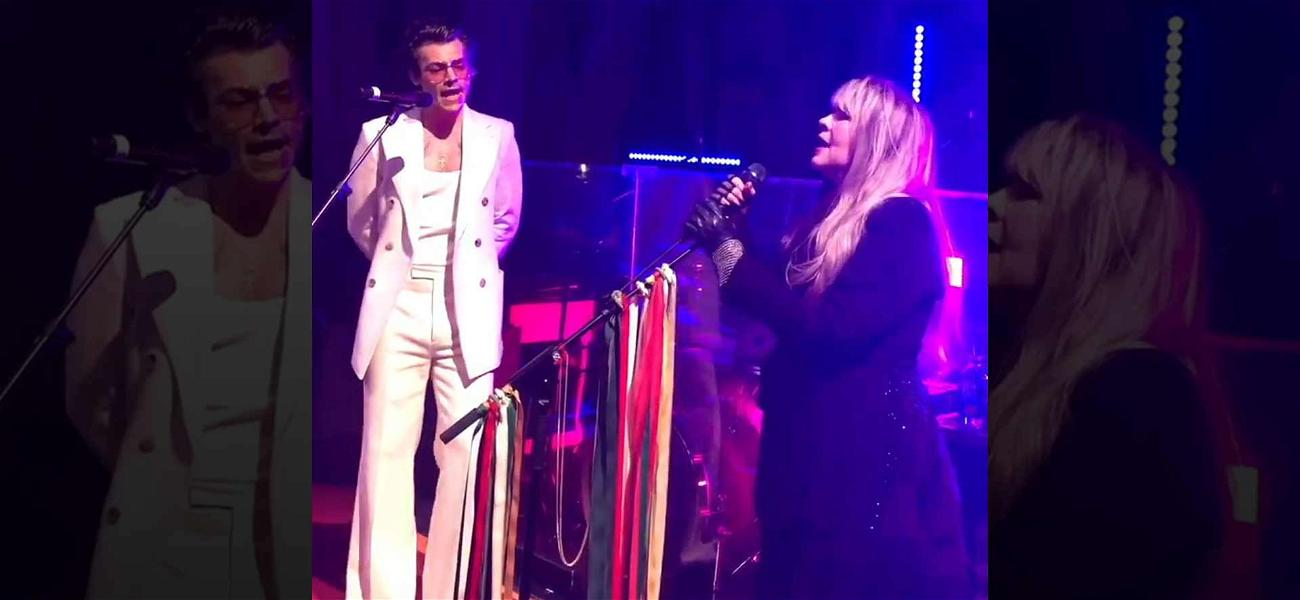 Harry Styles Joins Stevie Nicks for Legendary Duet at Gucci Party in Rome