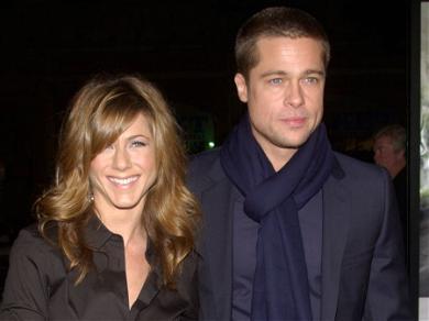 Brad Pitt Takes A Break From Jennifer Aniston Again!