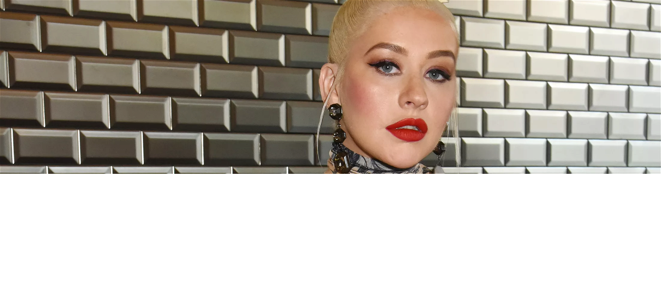 Christina Aguilera Posts Sultry Pictures On Instagram For Fans To 'Stay Cozy'