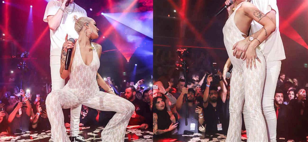 G-Eazy and Halsey Are Couple Goals as They Grind On Each Other With Wads of Cash