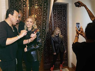 Lionel Richie Transforms Into the Perfect Instagram Dad For Daughter Sofia's Model Shot