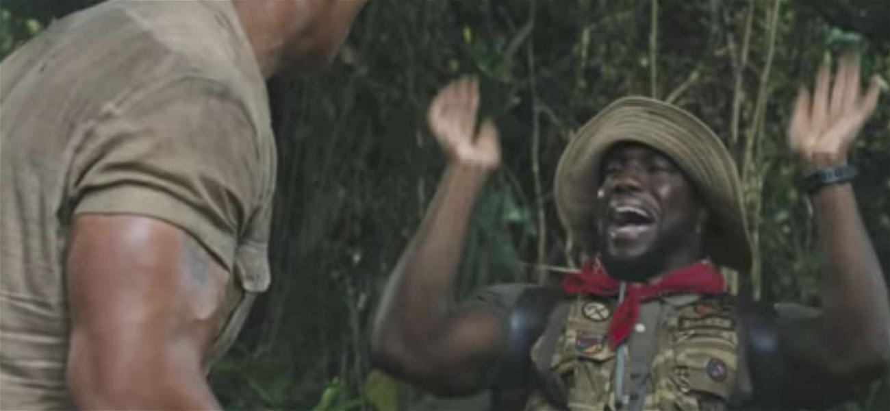 The Rock Throws Smoke Screen for Kevin Hart, Drops New 'Jumanji' Trailer
