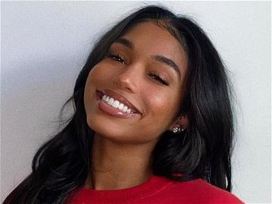Rapper Future's Ex-Girlfriend Lori Harvey Pops Glossy Lips