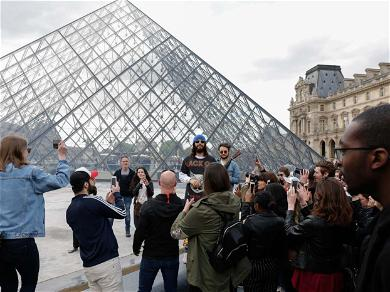 Jared Leto & Thirty Seconds to Mars Perform at The Louvre
