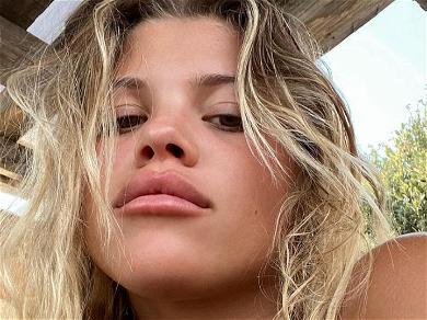 Sofia Richie Floods The Imagination With Ocean Blue Bikini On Instagram