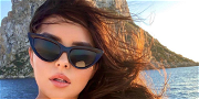 Demi Rose Bids You Good Morning In Skimpy Snakeskin Bikini Selfie Video