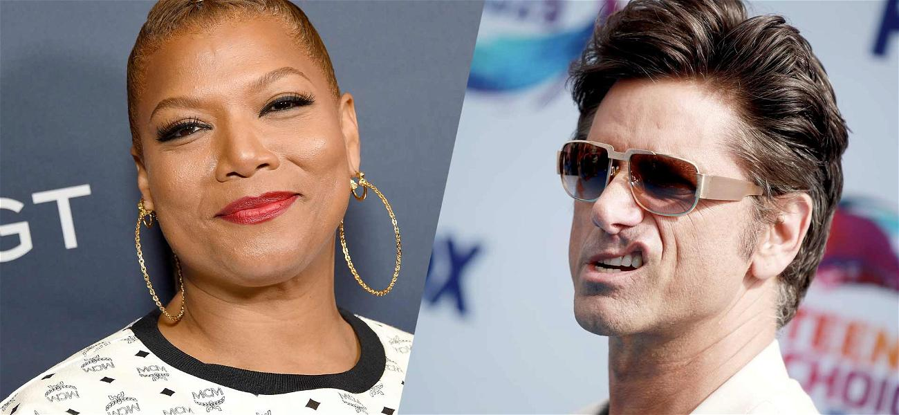 Check Out Queen Latifah as Ursula and John Stamos' Crazy Mustache In New 'Little Mermaid Live!' Teaser