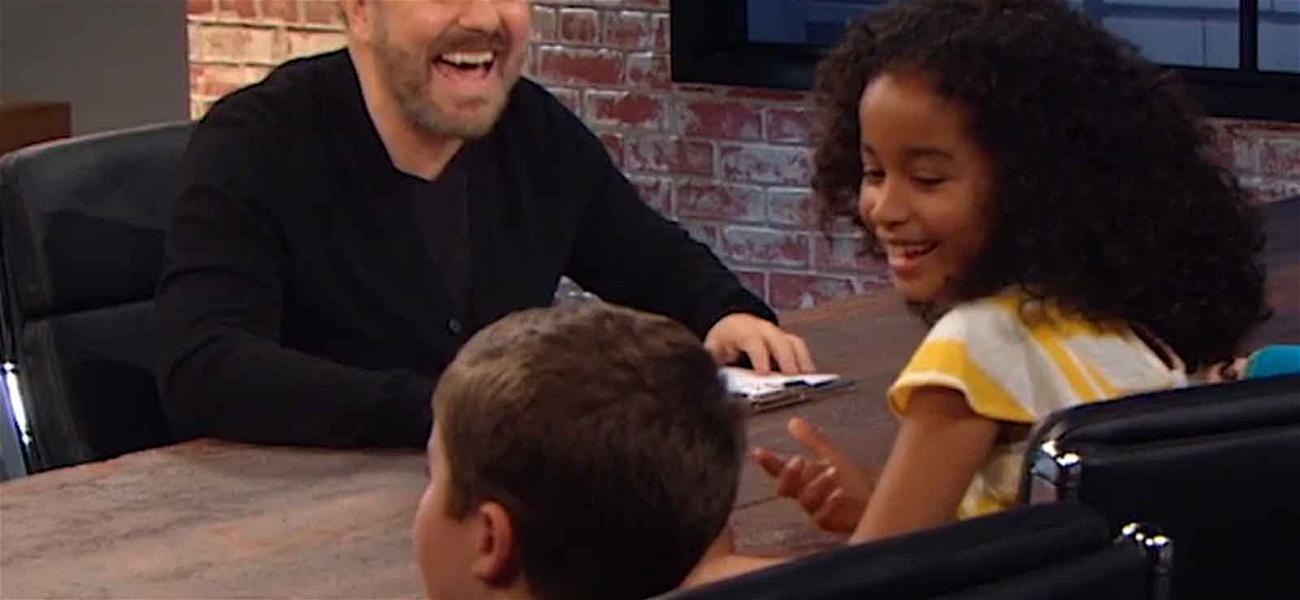 Ricky Gervais Will Make You Laugh at His 'Child Support' Issues