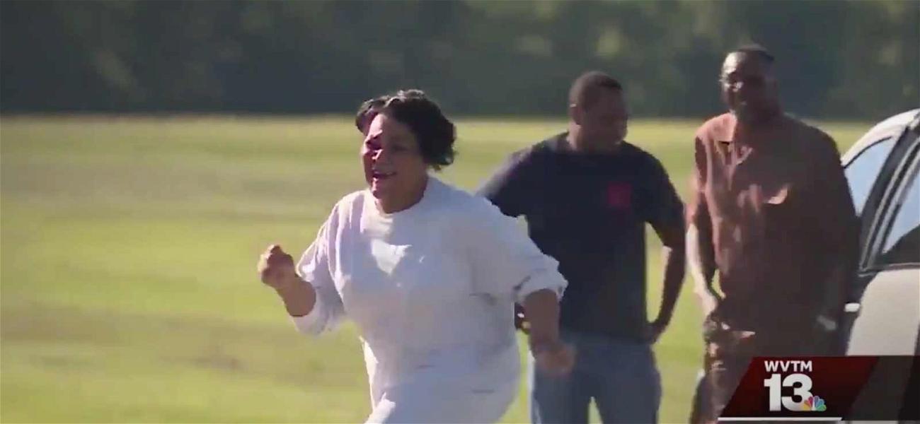 Alice Johnson Jumps for Joy After Prison Release