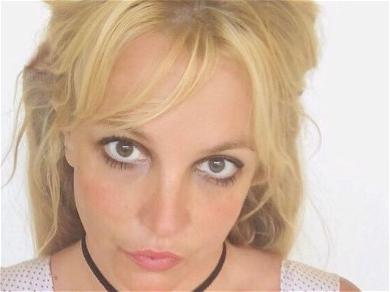 Britney Spears Sparks Fears In Floral String Crop Top