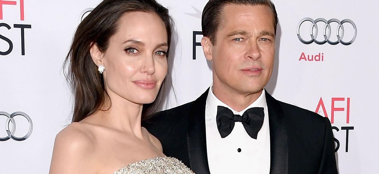 Brad Pitt Fighting Angelina Jolie For 50/50 Custody Of Kids In Nasty Divorce Battle