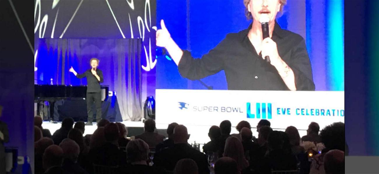David Spade Kills at Robert Kraft's Party on Eve of Super Bowl