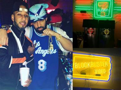 Drake's Throwback Party Was a 00's Kid's Dream, Brings Back Blockbuster & Degrassi