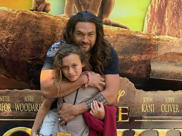 Jason Momoa Spent His Daughter's Birthday Crying Over 'Lion King'