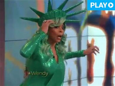 Wendy Williams Faints on Live TV, But Bounces Back