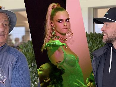 Cara Delevingne Wants To Be The Meat In A Justin Timberlake and Bill Murray Sandwich