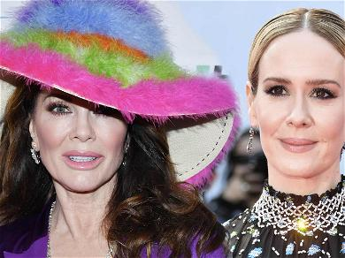 Lisa Vanderpump Called Out By Fans After Photo With Sarah Paulson Circulates