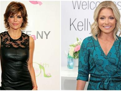 Lisa Rinna Delivers Bathroom Beyonce Dance With Tequila, Kelly Ripa Notices It