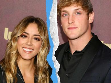 Logan Paul and Chloe Bennet Split