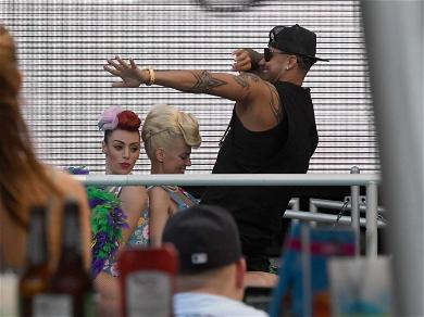 Pauly D Gets Lap Dance While Filming 'Jersey Shore' Reboot
