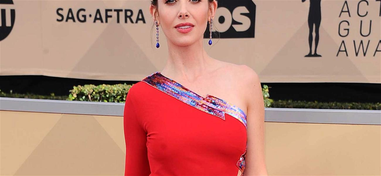 Alison Brie Has James Franco's Back at SAG Awards: 'I Obviously Support My Family'