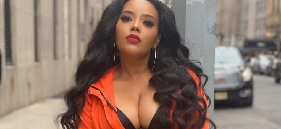 Angela Simmons Bursts Out Of String Bikini: 'Literally Drenched'