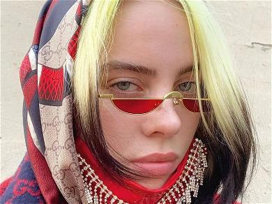 Billie Eilish Exposes Bare Cheeks In Rare Sheer Dress Showoff