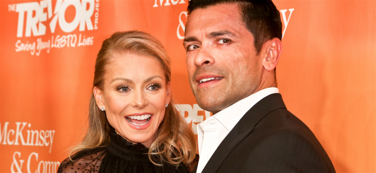 Kelly Ripa Guzzles Icing During Session With the 'Cake Boss'