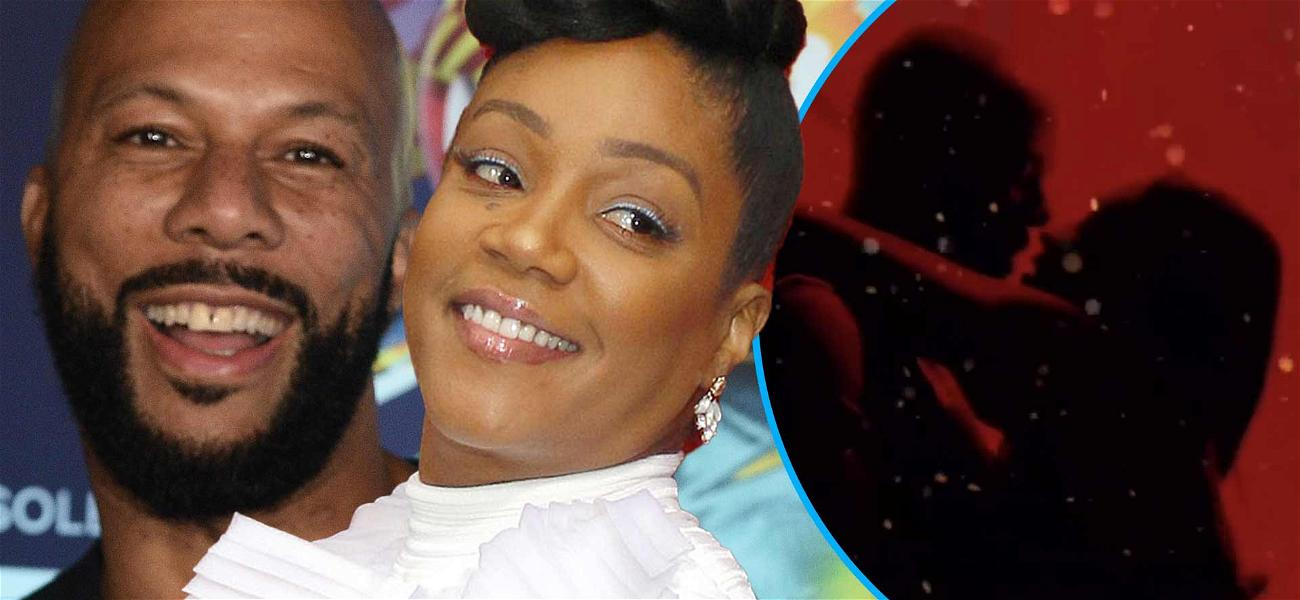 Tiffany Haddish & Common Share Titillating Makeout Session For Silhouette Challenge