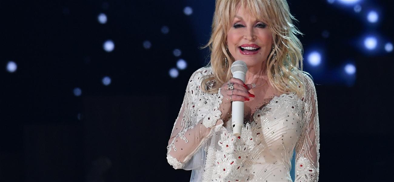 Celebrities Like Jimmy Kimmel, Jonas Brothers and Eminem Take on 'Dolly Parton Challenge' Online