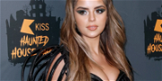 Demi Rose Gets Very Cheeky In TINY Pajama Shorts For 'Slumber Party'