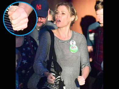 Julie Bowen at Disneyland Sans Wedding Ring After Report of Split From Husband