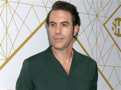 Sacha Baron Cohen Throws Shade At Kim Kardashian & Kanye West's Ongoing Divorce