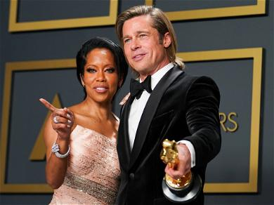 People Want Brad Pitt And Regina King To Hook Up! Keep Dreaming, Guys!