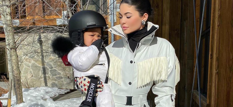 Kylie Jenner Shares Adorable Video of Daughter Stormi Snowboarding!