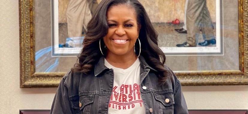 Michelle Obama Receives Love After Wearing Vanessa Bryant's 'Mambacita' Sweatshirt