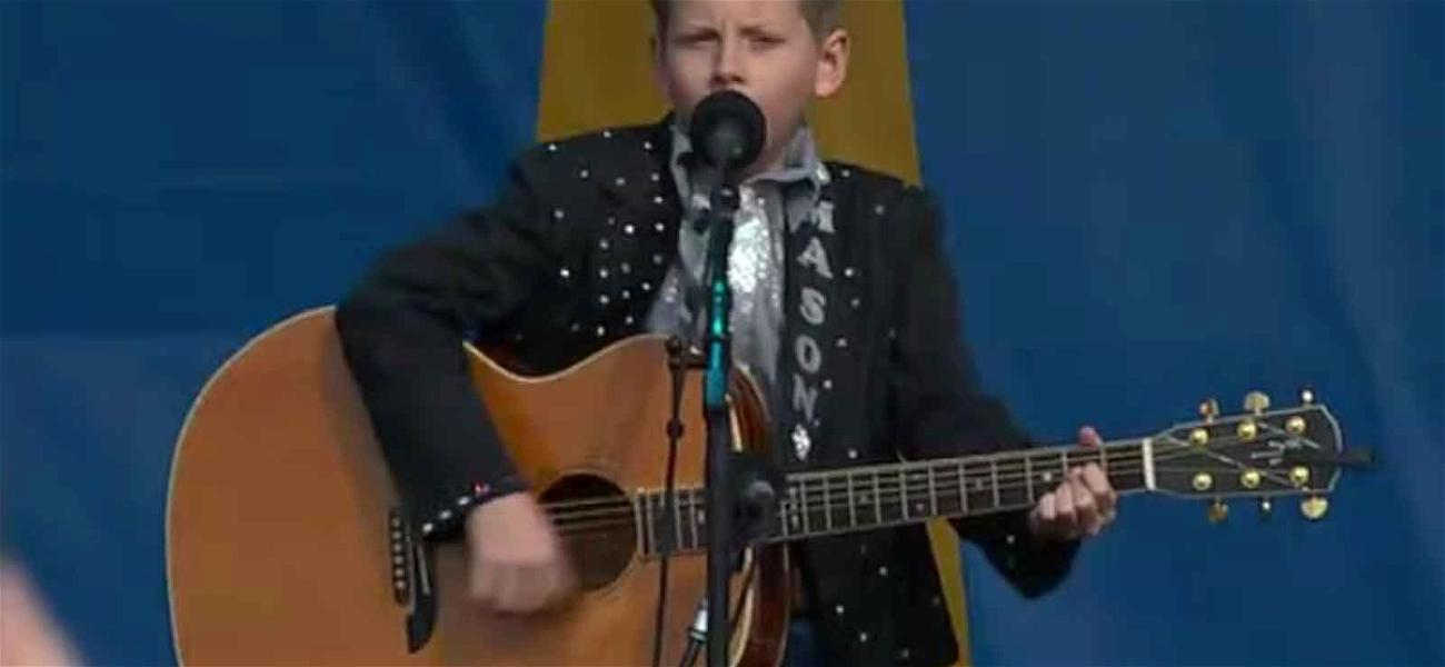 'Walmart Yodeling Boy' Draws Massive Crowd, Gets His Own Day at Walmart Concert