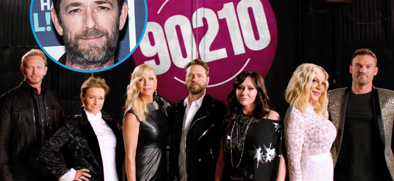 How 'Beverly Hills, 90210' Paid Tribute to Luke Perry in The Reboot Premiere