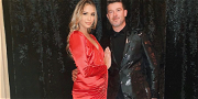 Robin Thicke & April Love Geary Are PREGNANT Again! — Expecting Third Child Together