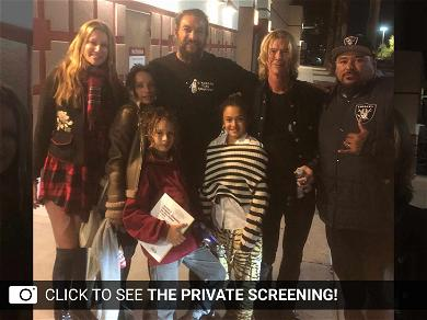 Jason Mamoa Holds a Private Screening of Aquaman in Hawaii