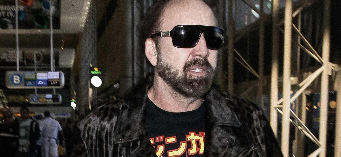 Nic Cage & Bride Were 'Drinking to the Point of Intoxication' Before Quickie Vegas Wedding