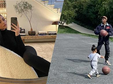 Travis Scott Shares Adorable Video With Stormi While Allegedly Isolating With Kylie Jenner